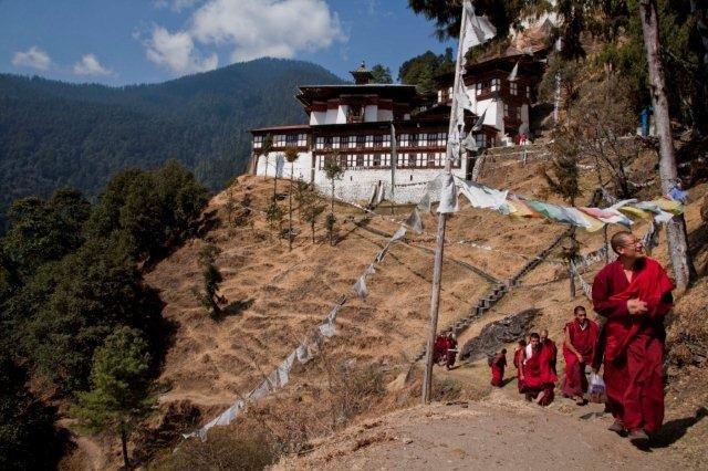 14Cherry Gompa Bhutan